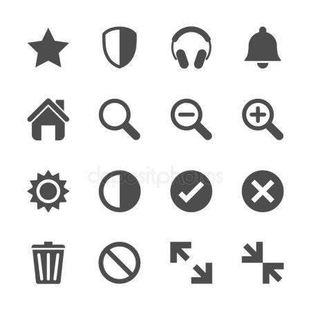collection of popular black logo signs of social media