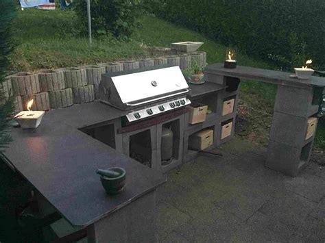 Outdoor Küche Stein by Outdoor K 252 Che Aus U Steinen Grillforum Und Bbq Www