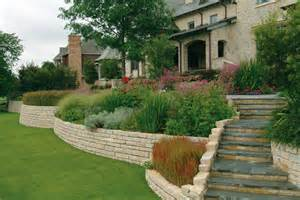 Raised Flower Bed Stone Wall