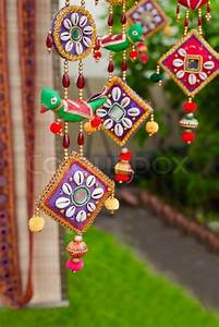 Indian outdoor decoration Stock Photo Colourbox