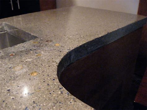 home dzine home improvement install diy concrete countertops