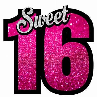 Sixteen Sweet Birthday Clipart Happy Pixabay Zestien