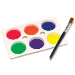 6 Well Plastic Paint Palette - 1 Supplied - Palettes And ...