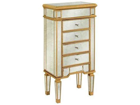 Elegant Lighting Florentine Gold & Antique Mirror Four