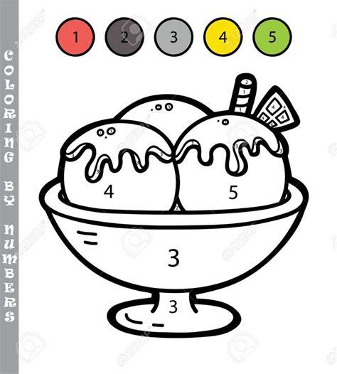 Stock Photo Colorear por números Dibujos y Dibujos para