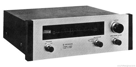 pioneer tx 500 manual am fm stereo tuner hifi engine