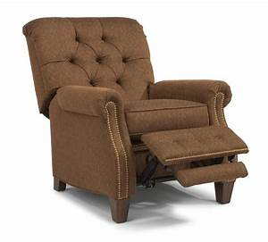 Champion fabric high leg recliner 7386503 recliners for Champion recliners