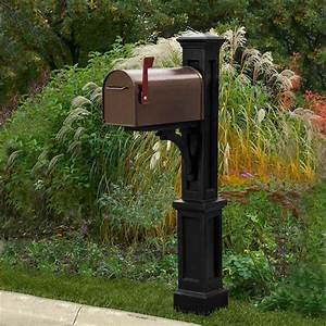Poly, Mailbox, Post, For, Small, Mailbox