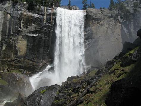 Foot Bridge Vernal Fall Trail Picture Yosemite