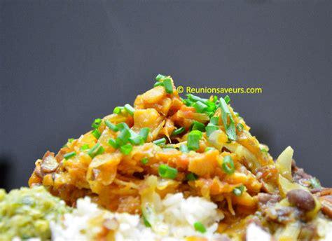 recette de cuisine creole recette rougail morue de la réunion 974