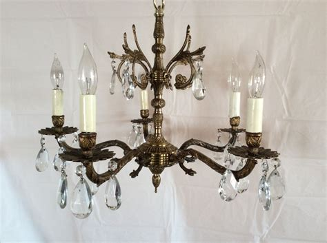 In Chandelier by Antique Vintage Brass Chandelier Made In Spain