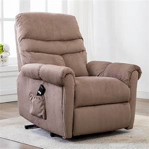Electric, Lift, Recliner, Chair, Electric, Power, Lift, Recliner, Chair, Sofa, With, Remote, And, Side