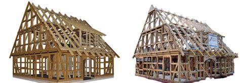 Fachwerkhaus Altbewaehrte Konstruktion by Cadwork Fachwerkbau