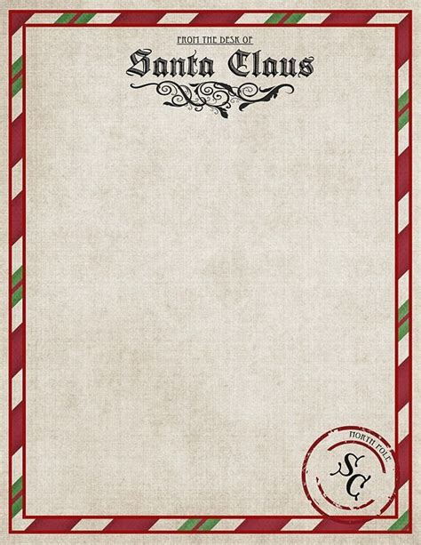 letters from santa 2017 template letter from santa letter of recommendation 71490