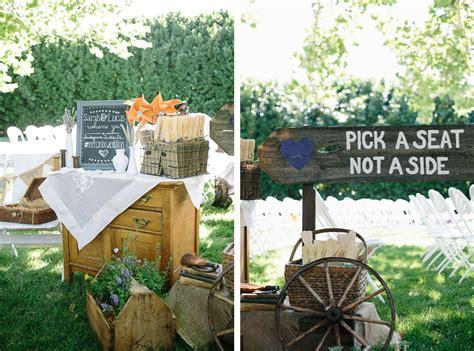 Bbq Backyard Wedding by Diy Backyard Bbq Wedding Ceremony Snixy Kitchen