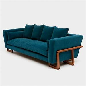 chambre bleu canard et associations ou accessoires With tapis moderne avec canapé velours bleu canard