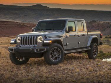 Gas Mileage For 2020 Jeep Gladiator by Top 10 Best Gas Mileage Trucks Fuel Efficient Trucks