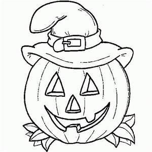 Citrouille D Halloween Dessin : les meilleurs coloriages d 39 halloween ~ Nature-et-papiers.com Idées de Décoration