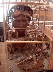 The Statue Of Liberty Under Construction Pics Pics