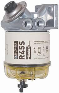 Racor Diesel  Gas Filter Water Separator 2 Microns