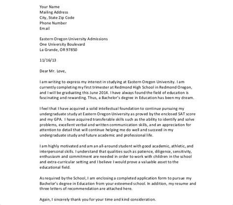 admission letter templates    premium