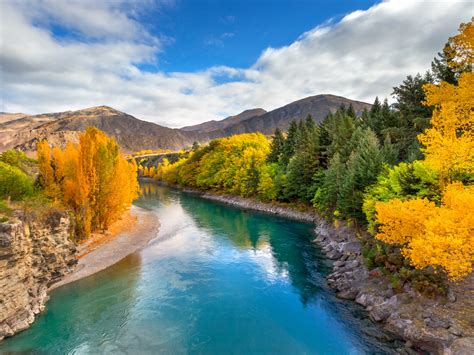 landscape wallpaper hd emerald river queenstown