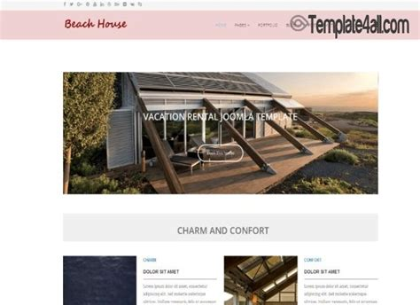 Black Responsive Joomla Template by Free Joomla Themes Templates