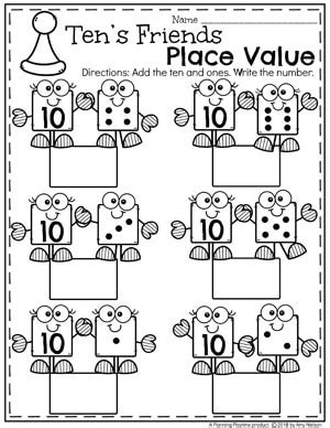 place value worksheets planning playtime
