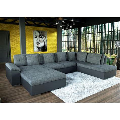 grand canap d angle 7 places grand canapé d 39 angle en u smile de 6 à 7 places tendance