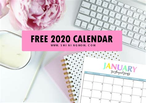 printable  calendar  beautiful colorful