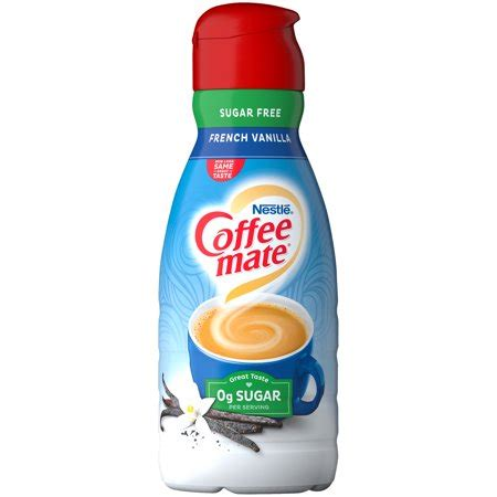 It was $3.49 at kroger. COFFEE MATE Sugar Free French Vanilla Liquid Coffee ...