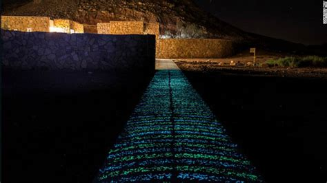 glow   dark concrete  light  cities