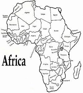 Free Printable Maps: Printable Africa Map | PrintFree