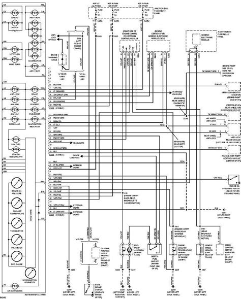 Fuel Wiring Diagram For F150 by 1997 Ford F150 Instrument Cluster Wiring Diagram All