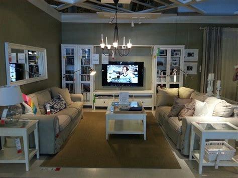 Ikea Ritva Living Room by Ikea Living Room Store Display Beige Sofa White