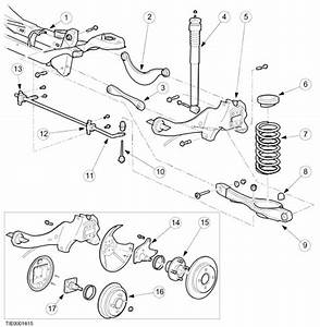 Looking For Instructions To Remove And Replace A Rear Crossmember  Frame  On A 2002 Ford Focus 4