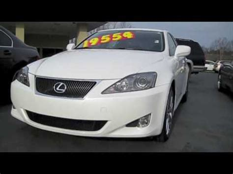 2007 lexus is250 start up engine and full 2006 lexus is250 6 speed manual start up engine and in