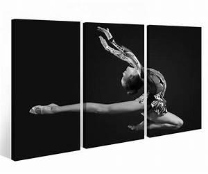 Schwarz Weiß Bilder Gerahmt : leinwandbild 3 tlg sport ballett tanz tanzen ballerina leinwand schwarz wei bild bilder holz ~ Watch28wear.com Haus und Dekorationen