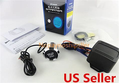 Universal Car Engine Start Push Button Switch Ignition