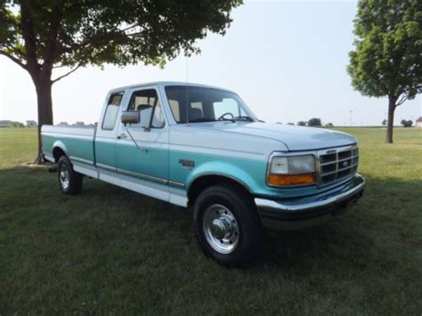 Find used 1996 FORD F250 EX CAB XLT 2WD 7.3 DIESEL LONG