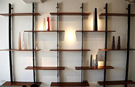 industrial pipe shelving wall mounted book shelves nana 39 s workshop