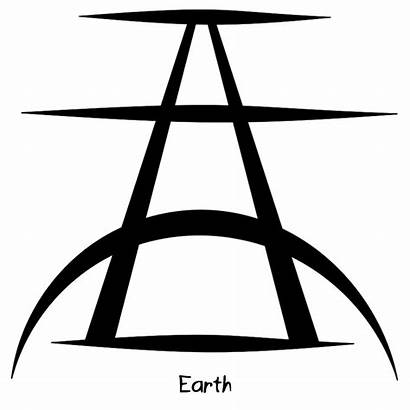 Sigil Symbols Strong Connection Earth Magic Goddess