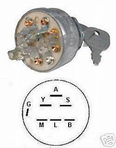 Ignition Switch 140301 W  Keys For Craftsman Husqvarna
