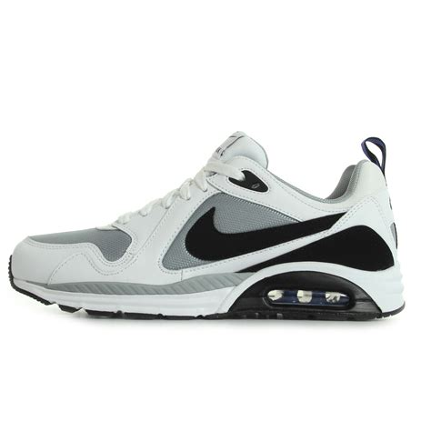 chaussures baskets nike homme air max trax taille blanc blanche cuir lacets ebay
