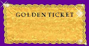 10 best images of wonka golden ticket blank template With golden ticket template editable