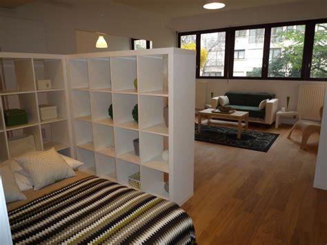 aménagement chambre à coucher décoration grand studio