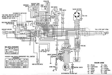Honda Tp Wiring by Schematics A Motorcycle Nut