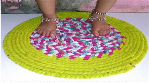 how to make a doormat from waste cloth cloth door mat doormats with waste clothes how to