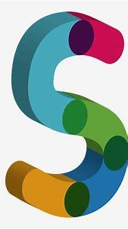 Alphabet, 3d Albhabet, Letters, Color - 3d Letter S Png ...