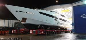 eddie jordan spends million    ft superyacht